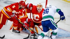 Markstrom's 32-save shutout lifts Calgary Flames to 3-0 win over Vancouver Canucks Article Image 0