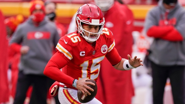 Kansas City Chiefs QB Patrick Mahomes says he's cleared concussion protocol