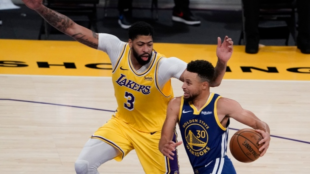 Golden State Warriors Rally From 14 Down In 4th Beat Los Angeles Lakers Tsn Ca
