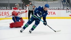 Horvat Canucks Canadiens