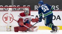 Canadiens Canucks Bo Horvat