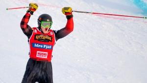 Canada's Howden wins ski cross crystal globe in rookie season