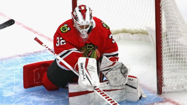 Blackhawks G Lankinen held out because of COVID-19 protocol