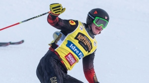 Canada's Howden races to fourth World Cup ski cross victory of the season