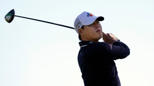 Kim breaks putter during second round of Masters