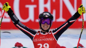 Canada's Gagnon 3rd in World Cup super-G