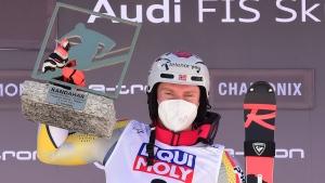 Kristoffersen wins last slalom before worlds