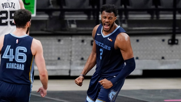 Memphis Grizzlies dominate San Antonio Spurs for 7th straight victory - TSN.ca