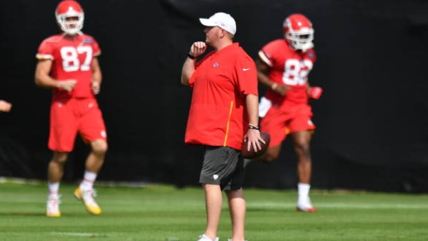 Former Chiefs assistant coach Reid pleads not guilty in crash