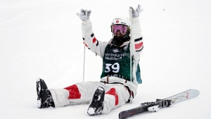 Canada's Kingsbury completes moguls sweep in Deer Valley with dual moguls victory