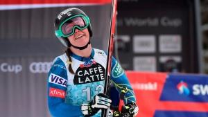 'Like the wind': US skier Johnson aims to follow Vonn