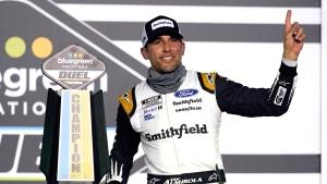 Almirola, Byron qualifying races for Daytona 500