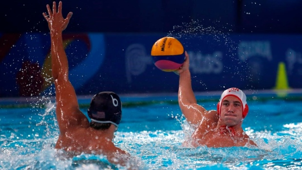 Canadian men's water polo team