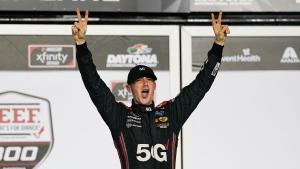 Cindric starts new season with big Xfinity win at Daytona