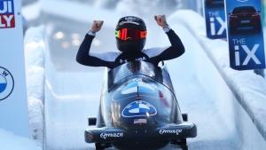 Bobsledder Humphries seeks path to Beijing Olympics