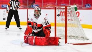 Gustavsson leads Senators in win over Heat