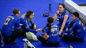 Curlers drawn to diversions in bubble life