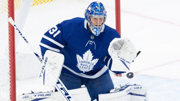 Toronto Maple Leafs G Frederik Andersen to start Wednesday vs. Ottawa Senators