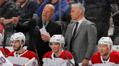 Claude Julien and Dominique Ducharme