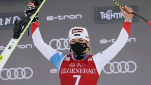 Gut-Behrami wins 2nd straight downhill
