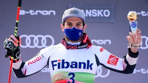 World champion Faivre wins World Cup GS