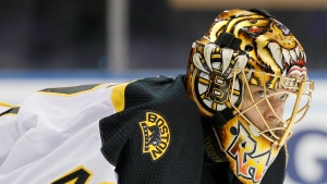 Bruins pending UFA Rask to have hip surgery, out until 2022