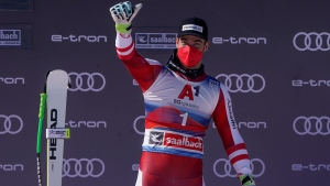 Kriechmayr adds WC downhill win to world title