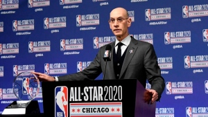 Silver says NBA may have weathered pandemic well financially