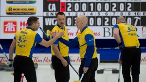 Koe beats Team Canada's Gushue to remain unbeaten at Brier