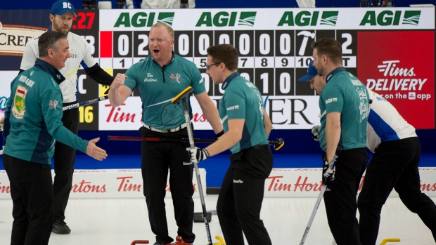 Vintage Middaugh 'free rolling' in dramatic return to Tim Hortons Brier