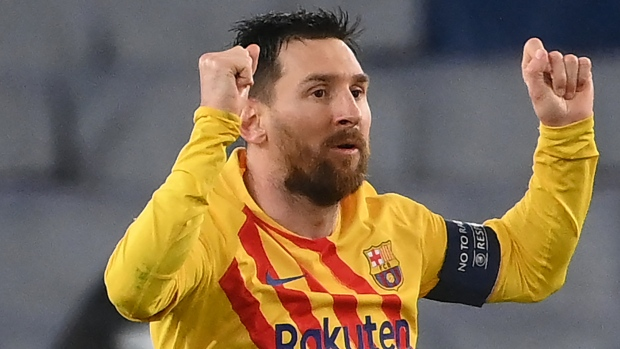Report: Manchester City will not pursue impending free-agent Lionel Messi this summer - TSN.ca