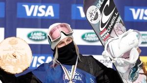 Blouin, McMorris win at world championships