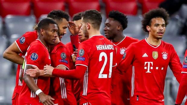 Bayern Munich Beats Lazio For Champions League Quarterfinal Spot Tsn Ca