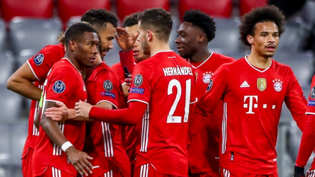 Bayern to face PSG in CL quarters