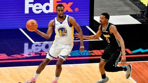 Andrew Wiggins Scores 40 As Short Handed Golden State Warriors Beat Memphis Grizzlies Tsn Ca