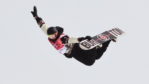 Canadian snowboarder McMorris back on podium in Aspen