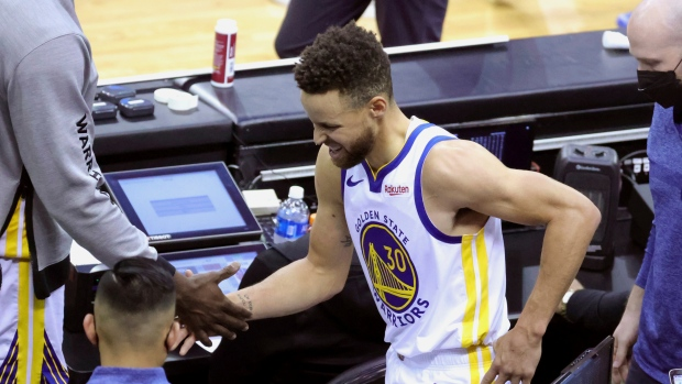 Golden State Warriors Steph Curry Out At Least Three More Games Tsn Ca