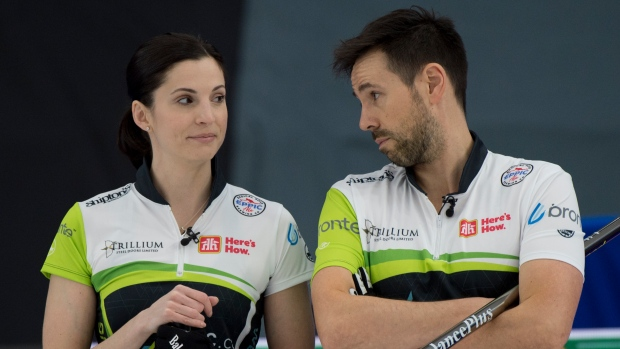 Weagle, Epping qualify for Mixed Doubles Olympic Trials