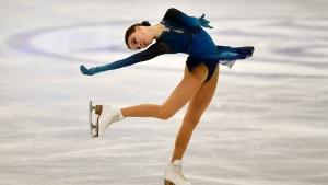 Russia's Shcherbakova wins women's short program at worlds