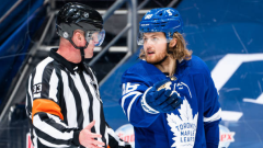 NHL Referee with William Nylander