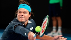 Raonic pulls out of Wimbledon with calf injury