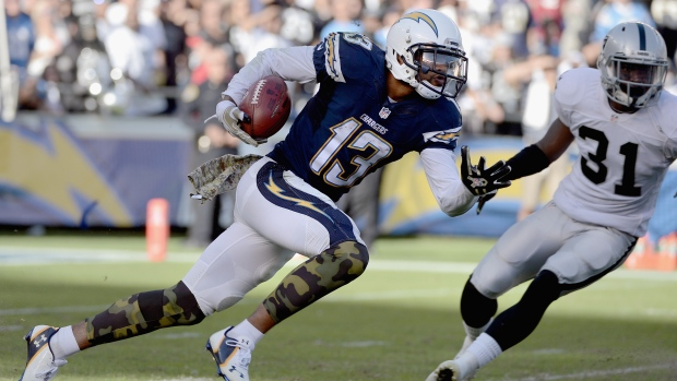 Chargers Leading Receiver Allen Has Broken Right