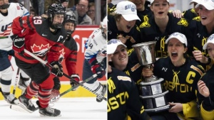 Looking back on a seismic shift in women's hockey