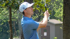 Good bogey helps Schniederjans to 36-hole Callaway Gardens lead