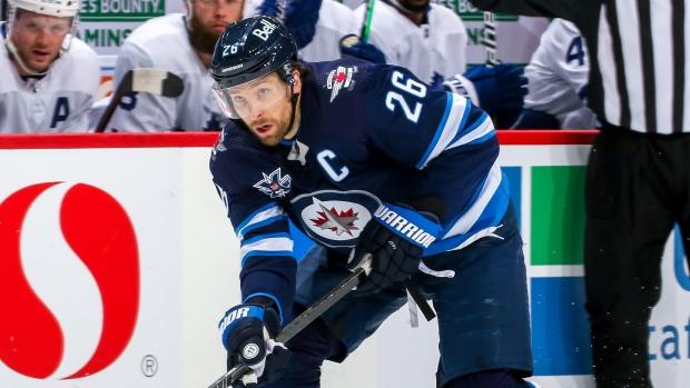 Winnipeg Jets F Blake Wheeler diagnosed with concussion - TSN.ca