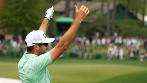 Canadian Conners hits a hole-in-one to climb the leaderboard at the Masters