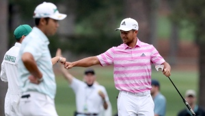 Schauffele, again, right in major mix at Masters