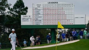 Final round tee times for the 2021 Masters