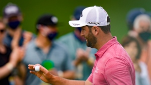 Rahm closes with a 66, ends memorable Masters week