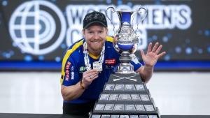 Sweden's Edin captures fifth career world curling title